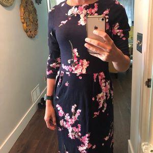 NWT Joules Beth Jersey Dress Navy Sz 6